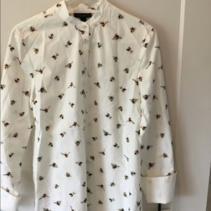 Victoria Beckham for Target bumble bee button up
